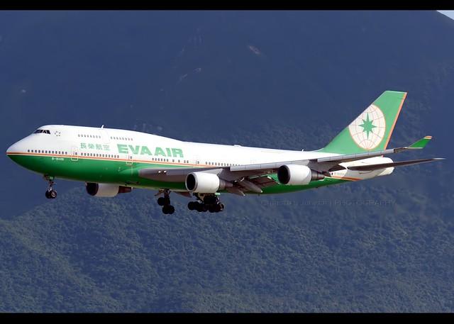 B747-45E/M | EVA Air | B-16409 | HKG