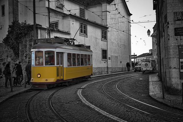 Tram Number 28 - Lisbon!