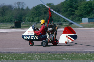 G-AXVK - Campbell Cricket - Bassingbourn - 28 May 78 | by THE Graf Zeppelin