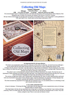 Collecting Old Maps by Francis J Manasek