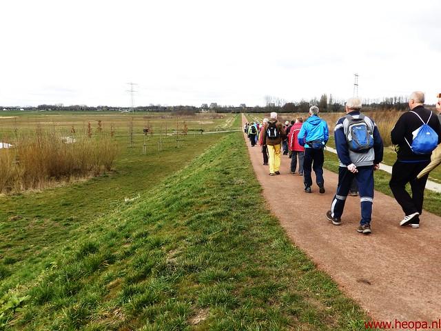 2016-03-23 stads en landtocht  Dordrecht            24.3 Km  (119)