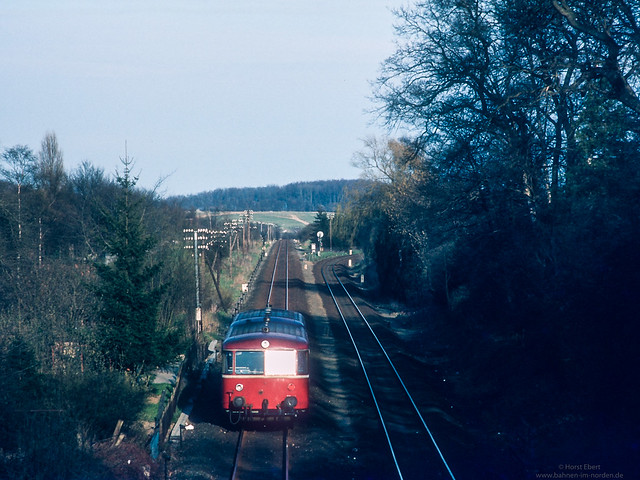 Schienenbus von Eutin nach Neustadt