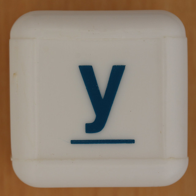 Boggle Junior letter y