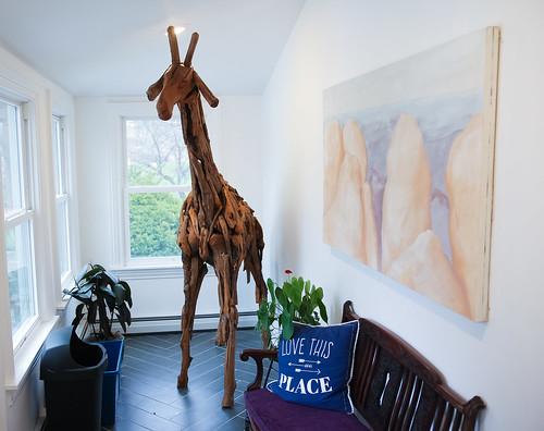 GIANT Giraffe   by geremology