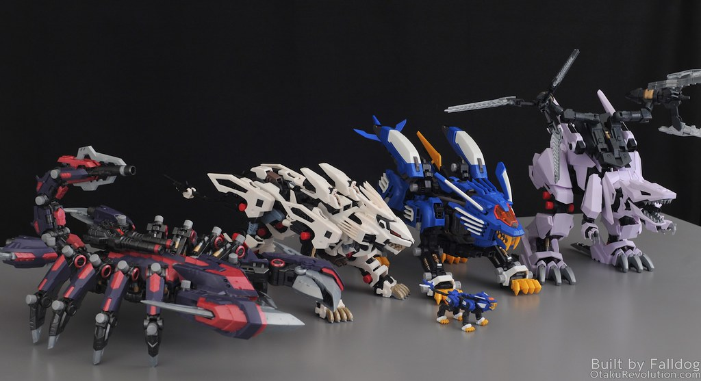 HMM Zoids - Death Stinger Review 4