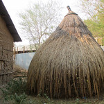 Ethiopia round kitchen with thatch roof (submitted by Abby Morris)