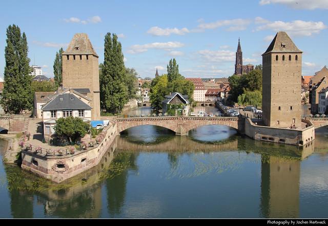 Ponts Couverts, Strasbourg, France