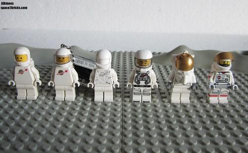 Lego Space minifigures p1