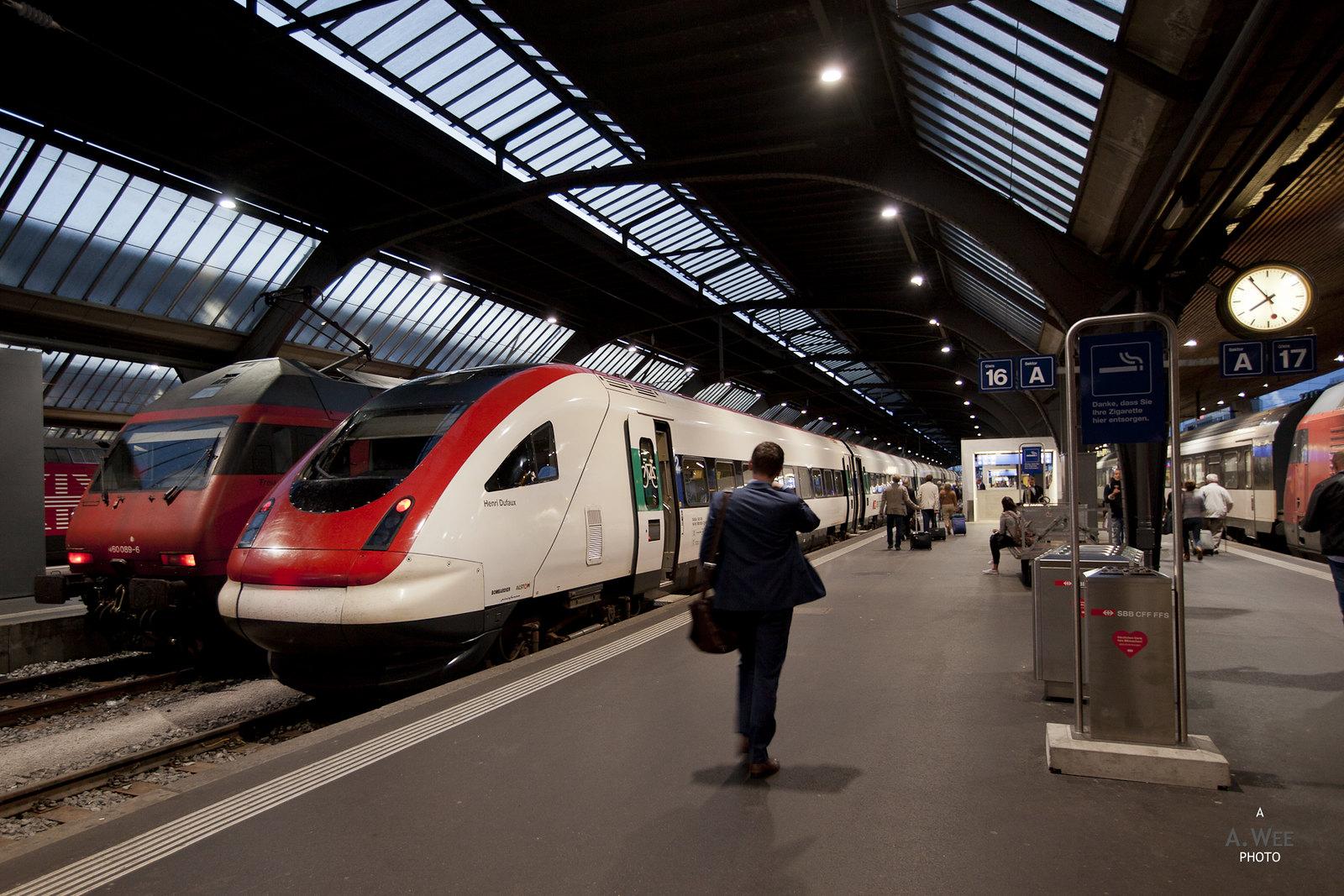 The Hauptbahnhof