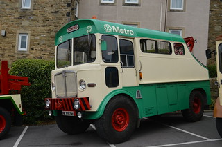 Preserved West Yorkshire PTE NKY805H AEC Matador recovery vehicle