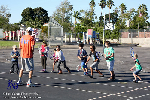 Your Court Tennis Lesson   by tim ozbun photography