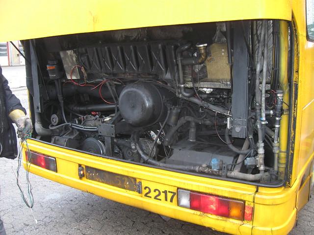 1996 DAB Series 15 City Trafik 2217 DAF mechanicals