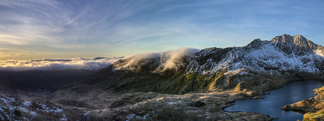 Rolling Cloud Snowdon North Wales 03/2016