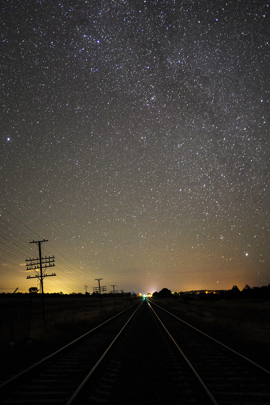 Rails under the stars by phil martin