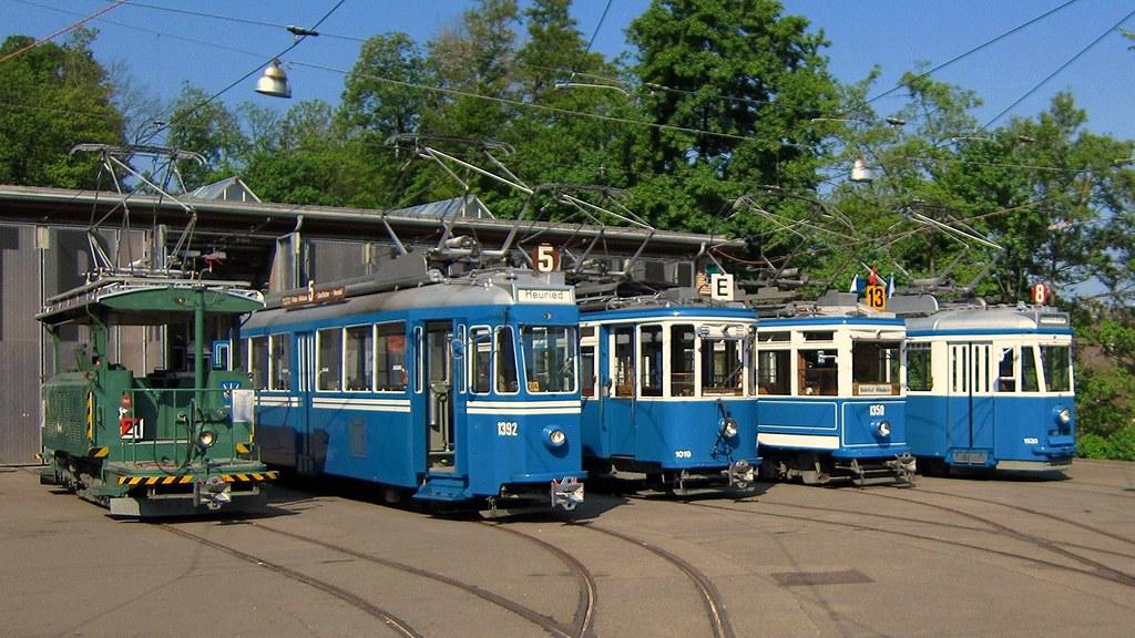 Osterhasenfahrt 2011 Tram Museum Zürich / APS