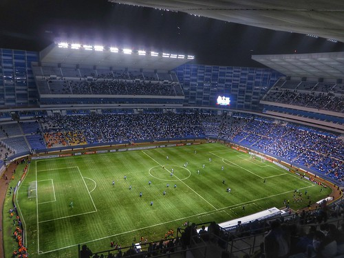 Estadio Cuauhtémoc  Puebla vs Racing de Avellaneda