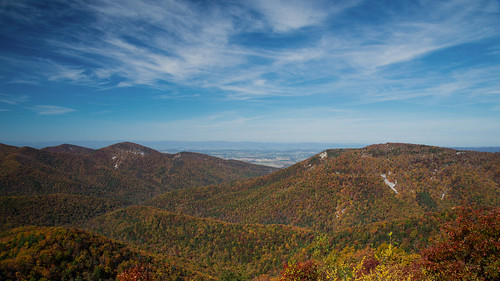 life blue autumn trees sky cliff plants mountain mountains color colour fall beautiful leaves weather rock clouds landscape outside gold drive virginia leaf big nikon colorful natural hiking overlook appalachia d610