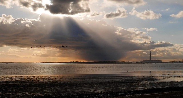 Clouds over the Solent
