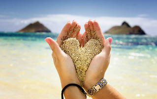 Hands holding sand   by johnvoo_photographer