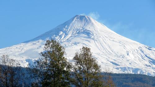 naturaleza snow nature beauty outdoors nieve belleza volcán airelibre