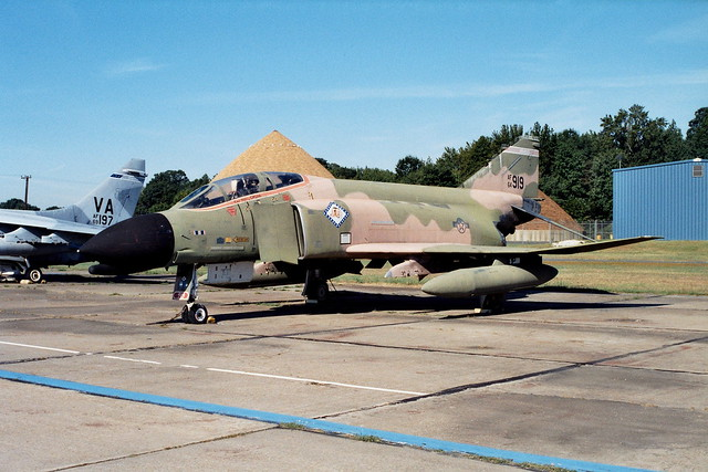F-4C Phantom-II 64-0919 ex 184TFS Arkansas-ANG, USAF. Preserved with the Glenn L. Martin museum, Baltimore Martin-State airport, Maryland. 22-09-2000.