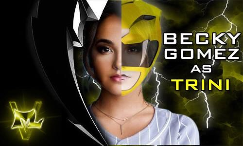 Becky G Power Ranger | by LATINHOLLYWOOD