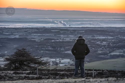 people nature weather sunrise landscape hills vista thegreatoutdoors hillwalking northwales moelfamau clwydhills