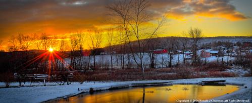 winter panorama usa snow nature sunrise nikon pennsylvania country ron pa hdr chapman waether elysburg ronchap
