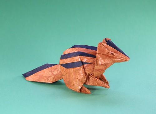 Gen Hagiwara - Chipmunk   by origami_8