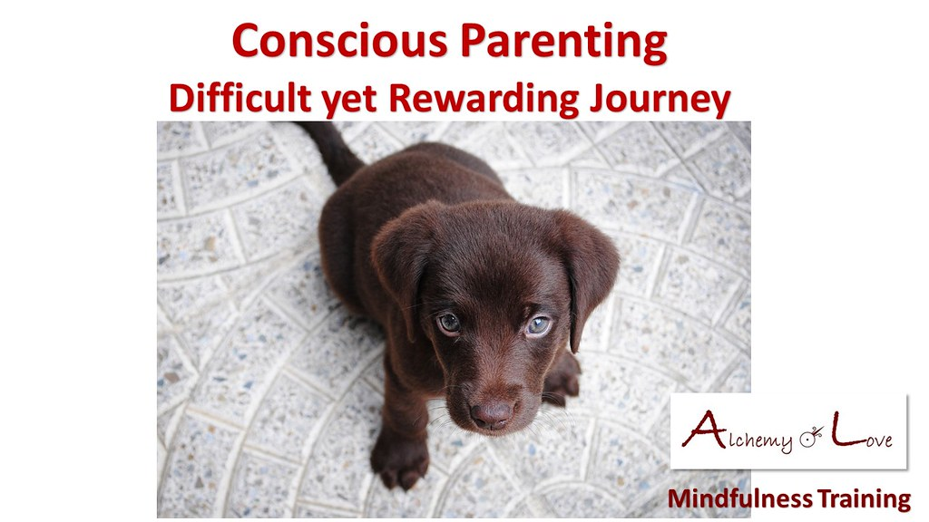 Conscious Parenting by Nataša Pantović quote Difficult yet Rewarding Journey