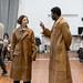 Amanda Hadingue and Charlie Folorunsho in rehearsals for I Am Thomas, Copperfield Rehearsal Rooms