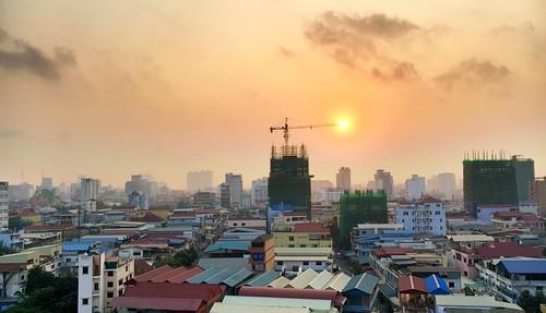 weather skyline sunrise cambodge cambodia khmer phnompenh cambodja projectweather