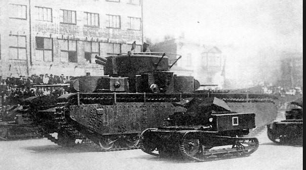 Tankette T-27 y T-35