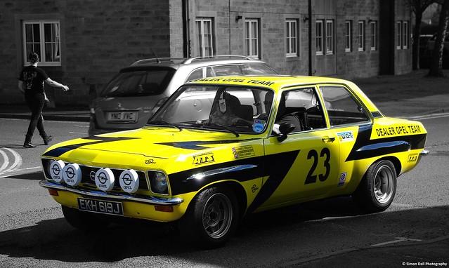 Opel  Ascona SR  rally car