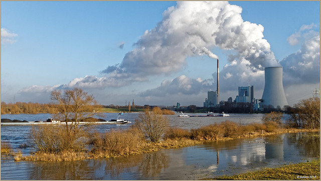 Niederrhein - Kraftwerk Du-Walsum