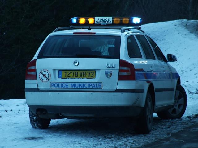 Skoda Octavia IIa Combi Police Municipale Courchevel (73) 12-12-10b
