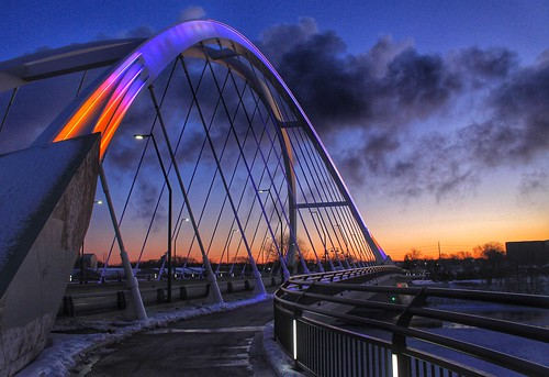 morning bridge winter sky cold ice minnesota skyline sunrise river cool cityscape freezing minneapolis mississippiriver fade chilly vikings minneapolisminnesota lowrybridge