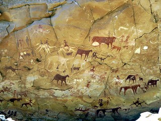 Prehistoric Rock Paintings | by D-Stanley