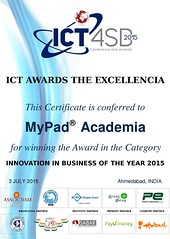 Innovation in Business of the Year Certificate