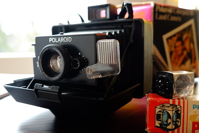 Polaroid EE 100 Special Land Camera