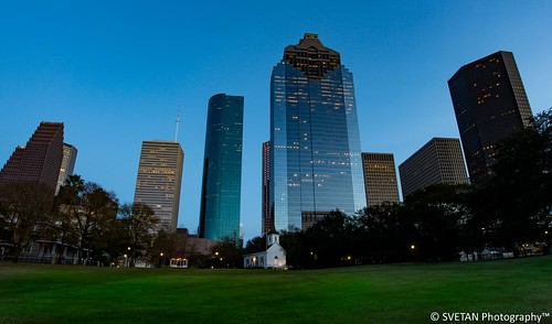 park sunset panorama skyline photography nikon long exposure downtown texas skyscrapers sam angle wide houston anvar khodzhaev svetan d800e