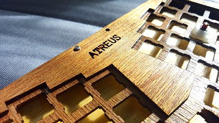 Atreus #2 Finish with Enamel Varnish | by almightyglod