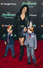 Joyce Giraud at the Premiere of Disney's Zootopia - CN1A4308
