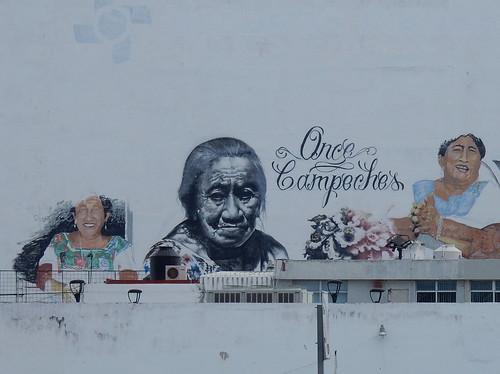 Campeche - muurschildering