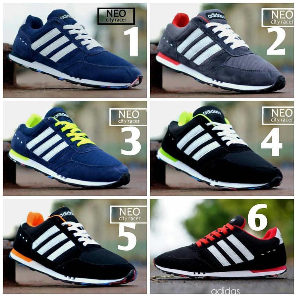 Adidas Neo City Racer Ready Stock Size 39/40/41/42/43/44 I
