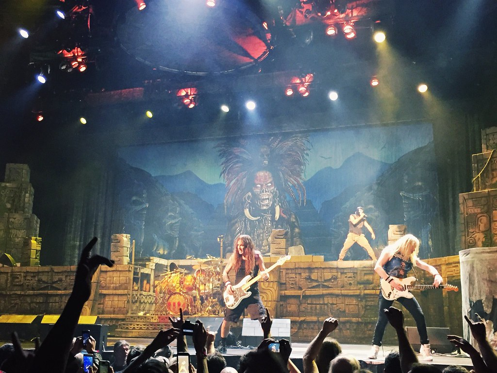 Iron Maiden The Book Of Souls World Tour 2016 Detroit M Flickr