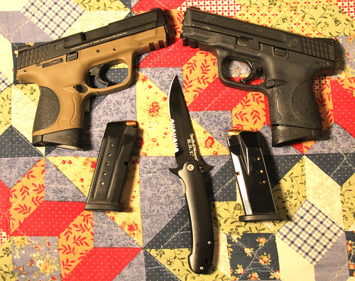 S&W M&Pc 9mm and .40 S&W Plus Knife