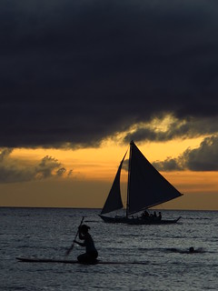 Boracay sunset 1 | by ReimaginedImages