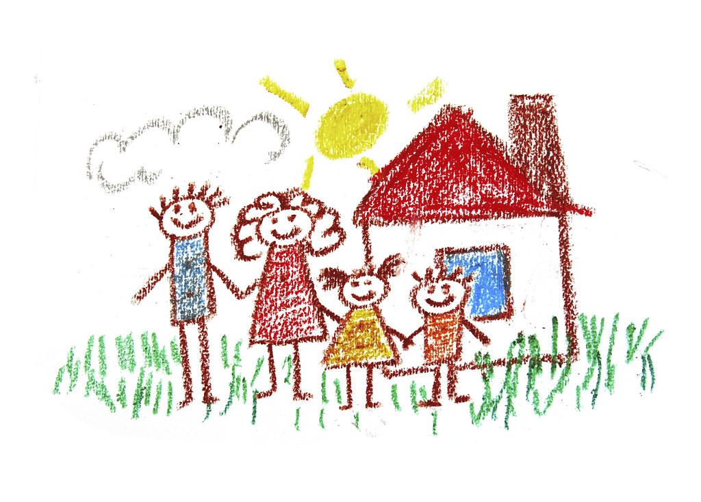 475210077   Happy family. Kids drawing   verkeorg   Flickr