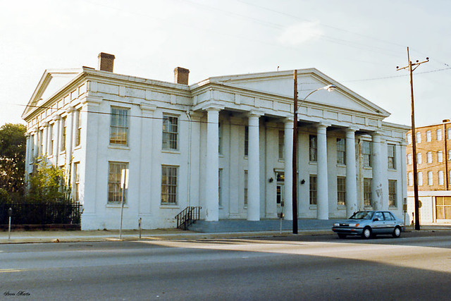 Central of Georgia Railway Administration Building, 1987